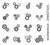 Cog Wheel Gear Mechanic And...