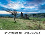 Old Disused Mine Buildings And...