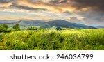 composite mountain landscape.... | Shutterstock . vector #246036799