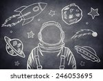 Empty Suit Astronaut On A...