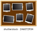 illustration of six photo... | Shutterstock .eps vector #246072934