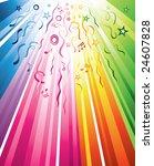 a festive multicolored design... | Shutterstock .eps vector #24607828