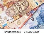 kazakh tenge money.background   Shutterstock . vector #246092335