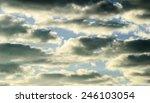 overcast sky background | Shutterstock . vector #246103054