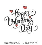 digitally generated valentines... | Shutterstock .eps vector #246124471