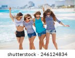 summer holidays and vacation  ... | Shutterstock . vector #246124834