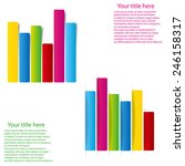 set of info graphic statistic... | Shutterstock .eps vector #246158317