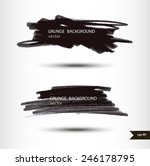 splash banners. watercolor... | Shutterstock .eps vector #246178795