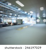 interiors lights background.... | Shutterstock . vector #246197029