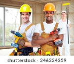 group of professional... | Shutterstock . vector #246224359