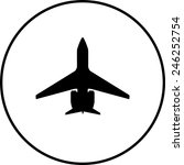jet symbol | Shutterstock .eps vector #246252754
