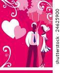st. valentine's day | Shutterstock .eps vector #24625900