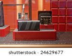 shop window with man accessories | Shutterstock . vector #24629677