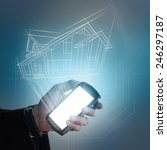 smart home concept   Shutterstock . vector #246297187