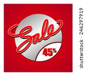 sale percent | Shutterstock .eps vector #246297919