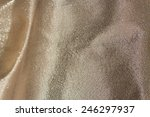 Golden And Glitter Fabric...