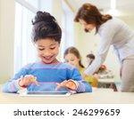 education  elementary school ... | Shutterstock . vector #246299659