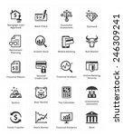 personal   business finance... | Shutterstock .eps vector #246309241