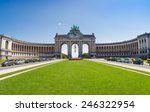 the triumphal arch or arc de... | Shutterstock . vector #246322954