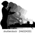 eps8 editable vector... | Shutterstock .eps vector #246324331