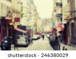 france background blur street | Shutterstock . vector #246380029