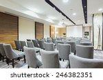conference room interior    Shutterstock . vector #246382351