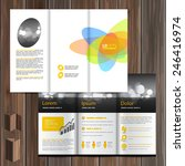 creative brochure template... | Shutterstock .eps vector #246416974