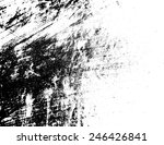 grunge black and white texture .... | Shutterstock .eps vector #246426841