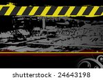 editable vector grunge urban... | Shutterstock .eps vector #24643198