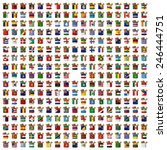 nation flag. box recycled paper ...   Shutterstock . vector #246444751