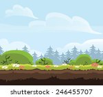 game level landscape background ...