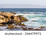 Rocks Near The Coast Of Chile...