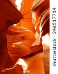 the maiden in lower antelope... | Shutterstock . vector #246517714