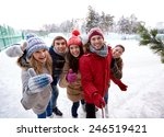 people  friendship  technology... | Shutterstock . vector #246519421