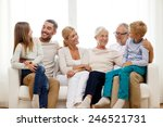 family  happiness  generation... | Shutterstock . vector #246521731