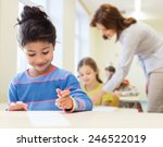education  elementary school... | Shutterstock . vector #246522019