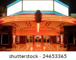 tower theater in sacramento at... | Shutterstock . vector #24653365
