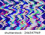 bright geometric abstract with... | Shutterstock . vector #246547969