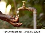 water scarcity   clean water... | Shutterstock . vector #246601225