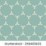 seamlessly vintage pattern | Shutterstock .eps vector #246603631