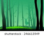 silhouette illustration of... | Shutterstock .eps vector #246613549
