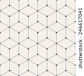 vector seamless pattern. modern ... | Shutterstock .eps vector #246617041