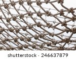 yacht safety net. horizontal... | Shutterstock . vector #246637879