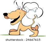 comic  dog laughing    Shutterstock .eps vector #24667615