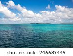 View Of The Caribbean Sea Near...