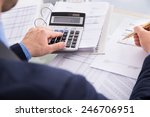 close up of businessman... | Shutterstock . vector #246706951