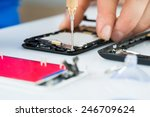 close up of human hand... | Shutterstock . vector #246709624
