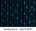 Abstract Cyan Energy Streams...