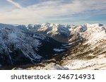 Classic Glacial Valley   A U...