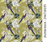 pheasant animals birds in... | Shutterstock .eps vector #246718195
